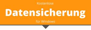 kostenlose Datensicherung für Windows