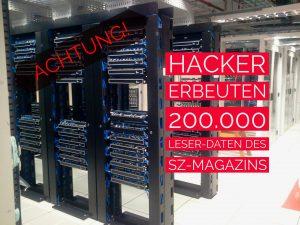 Attacke SZ-Magazin