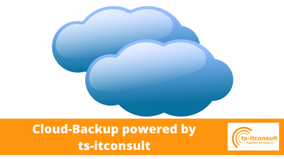 Cloud-Backup powered by ts-itconsult