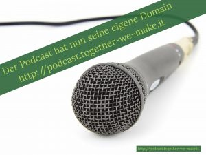 Podcast neue Domain