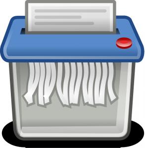 Shreddern von Dateien